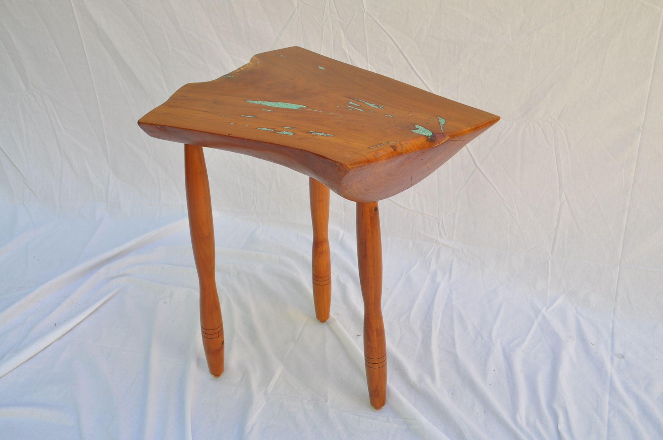 Buy A Hand Made Small NaturalEdge Cherry Side Table Made To - Natural cherry side table