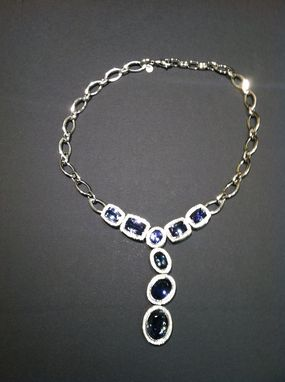 Custom Made Tanzanite Necklace
