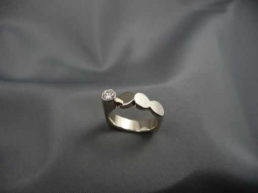 Custom Made Sterling Silver House Design Ring