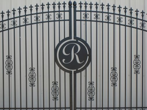 Custom Made Double Ornamental Iron Gates - Highly Customized