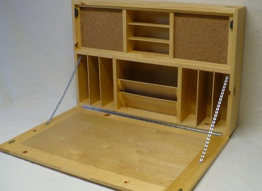 Custom Made Wall Mounted Space Saving Desk