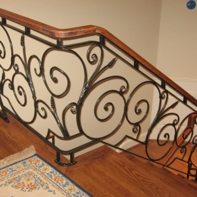 Wrought Iron Railing By Kevin Williamson