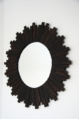 Custom Made Sunburst Mirror 31