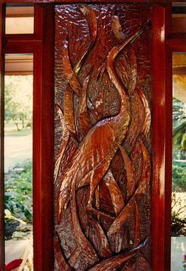 "Custom Made Custom Door ""Egret"""