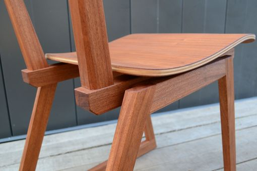Custom Made Mahogany Dining Chair