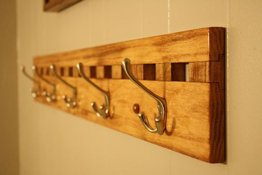 Custom Made Coat And Hat Rack