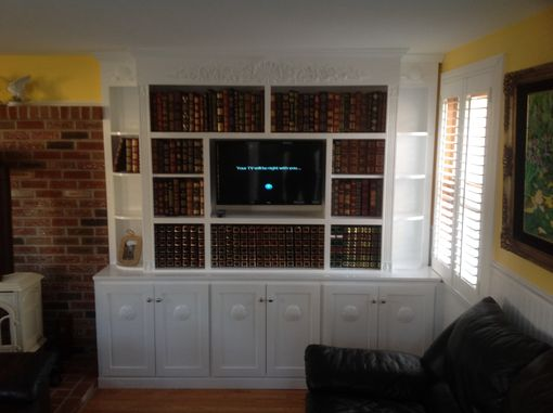 Custom Made Sea Coast Entertainment Center
