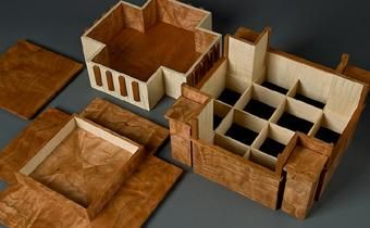 Custom Made Unity Temple Wooden Jewelry Box