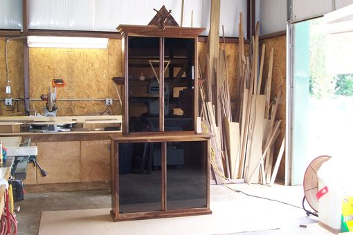 Custom Made Trophy  Cabinet