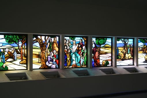 Custom Made Stained Glass Windows - Religious