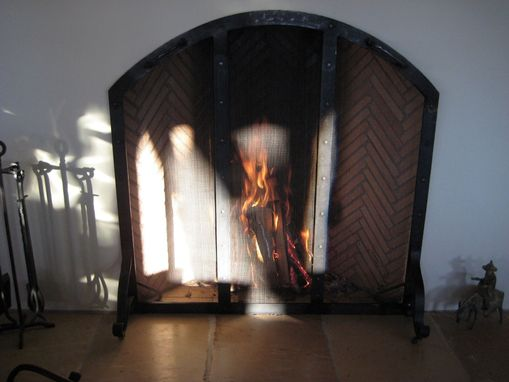 Custom Made Fire Screen