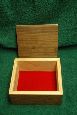 Custom Made Elm Burl  Box