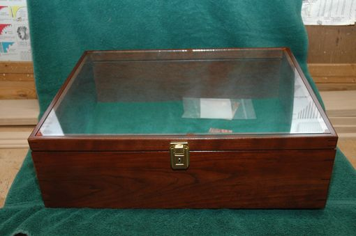 Custom Made Cherry Book Display Box