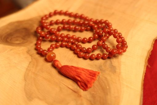 Custom Made Carnelian Mala - Vitality And Creativity