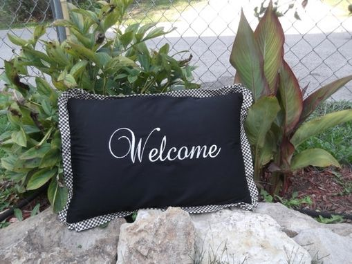Custom Made Greet Your Guests With Welcome Pillows