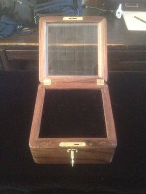 Custom Made Championship Ring Box