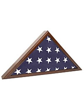 Custom Made Flag Case For Veteran Funeral