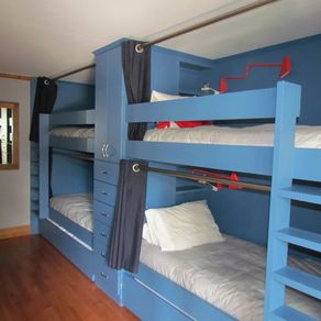 Custom Built In Bunk Beds