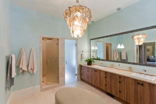 Custom Made Master Bathroom Cabinets