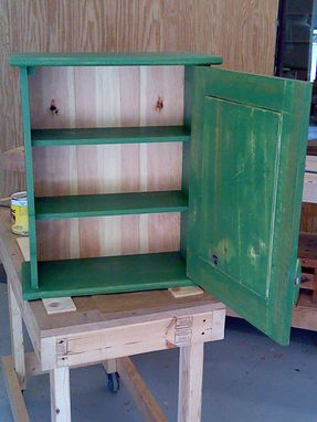 Custom Made Preserves Cabinet And Stand