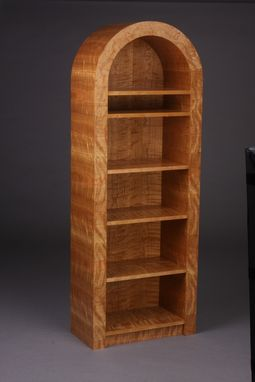 Custom Made Roundtop Bookcase