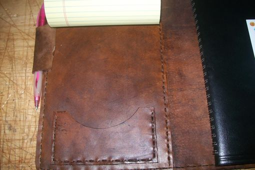 Custom Made Custom Leather Day Planner