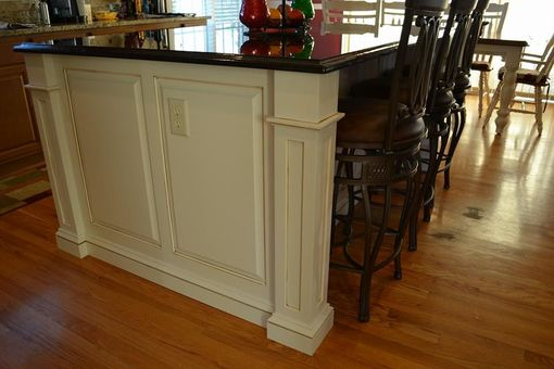 Custom Made Maple Kitchen Island