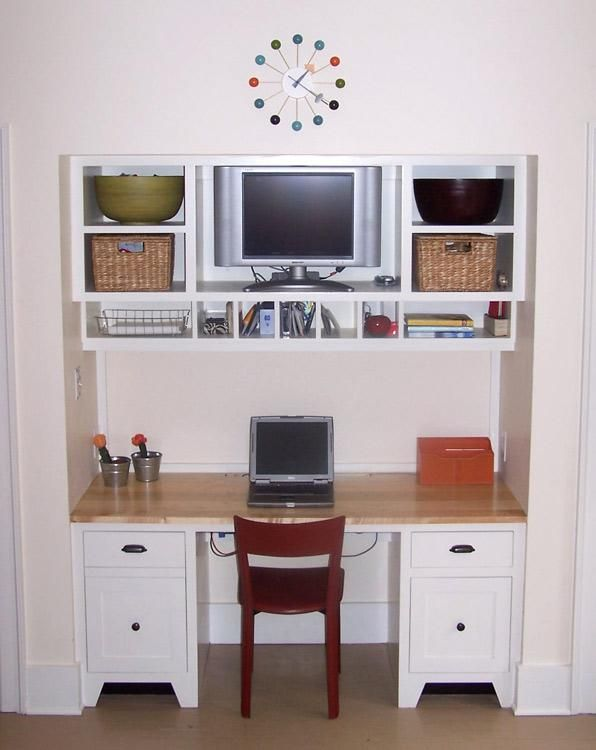 Hand Made Alcove Desk By Albion Cabinets Stairs Inc