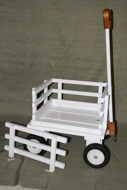 Custom Made Classy Wagon For Wedding Ceremony Or Play. Select Hardwoods. Can Be Finished Or Unfinished.