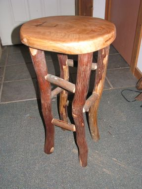 Custom Made Naturally Elegant Stool