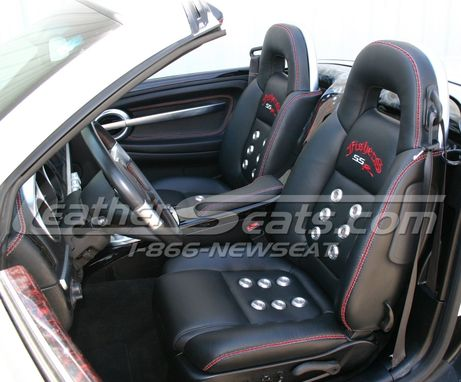 Custom Made Custom Chevrolet Ssr Italian Leather Interior