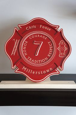 Custom Made Custom Carved Wood Sign