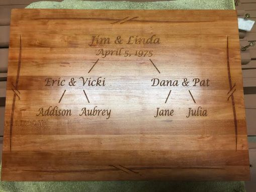 Custom Made High Quality Personalized Cutting Board