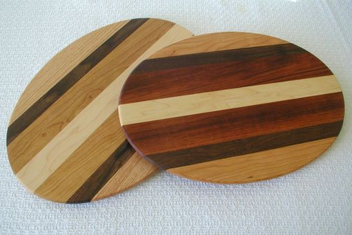 Custom Made Beveled Edge Oval Cheese Board