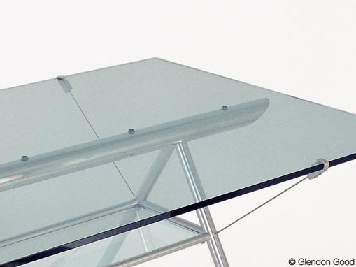 Custom Made Glass & Aluminum Tables