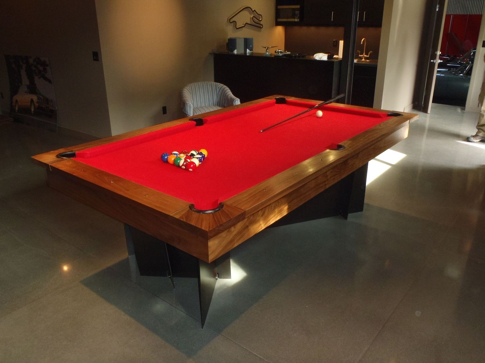Hand Made Modern Pool Table By Dan Joseph Woodworks CustomMadecom - Modern pool table designs
