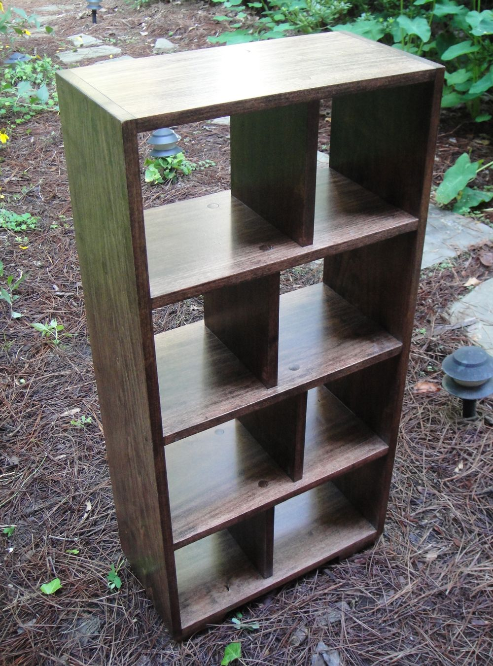 Buy A Hand Crafted Mr2 Custom Hardwood Open Back Bookcase
