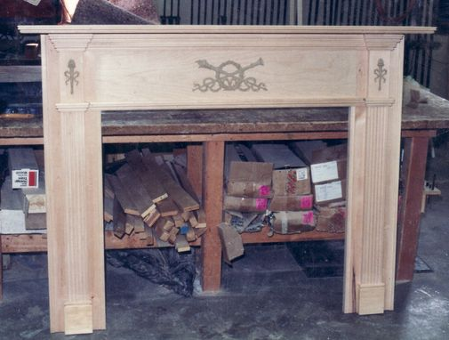 Custom Made Fireplace Mantle Piece - Reproduction