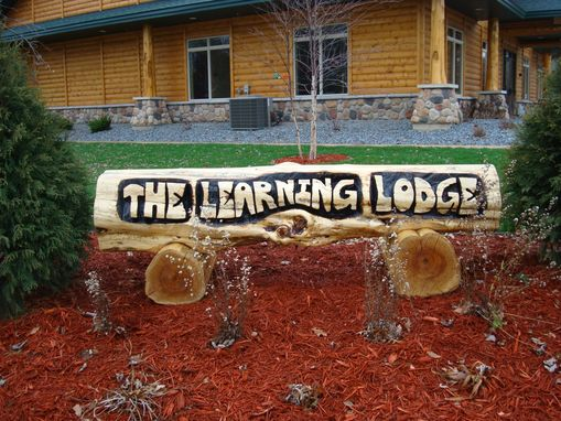 Custom Made Custom Sign For Lodge