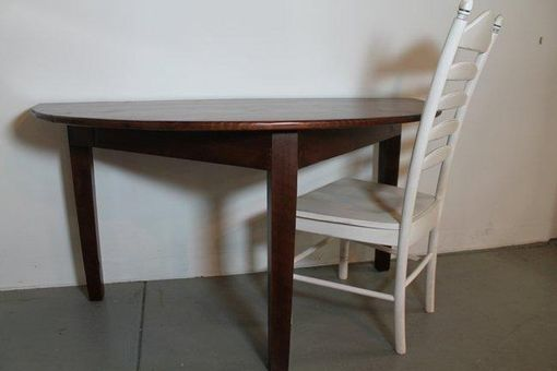 Custom Made Small Half Circle Dining Table by ...