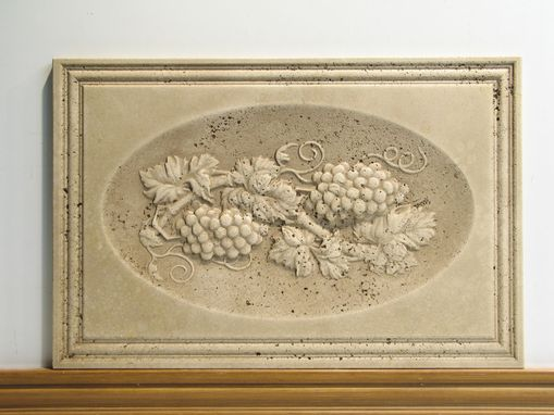 Custom Made Travertine Classical Relief Tile