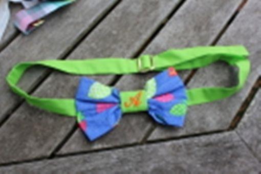 Custom Made Bow Tie Belt:  New Fashion