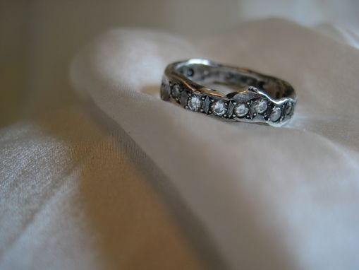 buy a handmade elizabeth wedding band stackable ring