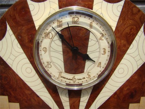 Custom Made Art Deco Clock