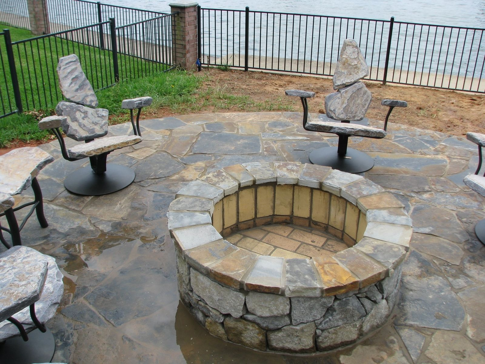 Custom Made Fire Pit Chairs