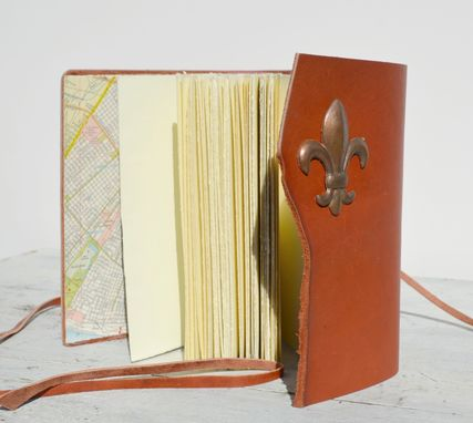 Custom Made Custom Hand Made, Leather Bound Journal