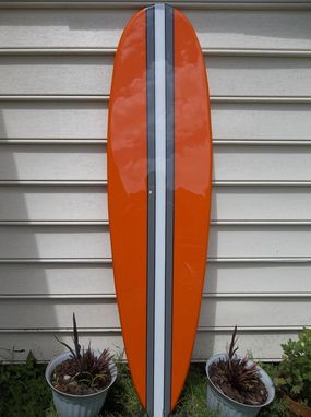 Custom Made Surfboard Wall Hanging, Surfboard Wall Art