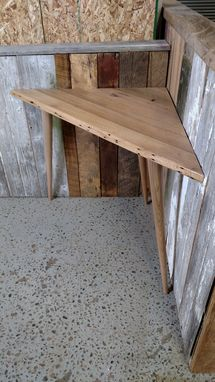 Custom Made Small Corner Writing Desk / Table
