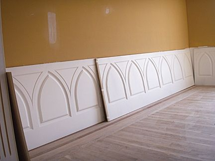 Custom Made Dining Room Wainscoting Installation Andrew Style