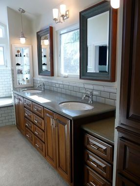 Custom Made Bathroom Vanity Mirrors